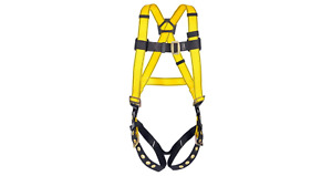 Msa Workman Universal Size Full Body Fall Protection Harness Contractor