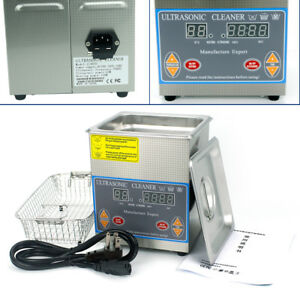 2l Digital Industry Jewelry Dental Ultrasonic Cleaner Cleaning Heater Timer
