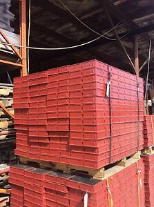 new Symons Concrete Wall Forms Steel ply 12 X 4 Fillers 60 Pcs