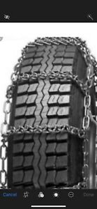 New v bar commercial 7mm Cam Snow Tire Chains Lt235 85r16 Lt245 75r16 17 5 5