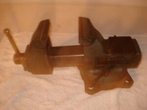 Vintage Wilton Mechanics Bench Vise 4 Jaws Anvil With Swivel Shiller Park