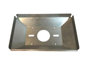 Trm Alum Raised Air Scoop Tray 13 3 8 X 21 1 2 090 Thick Fits 4500 Carb