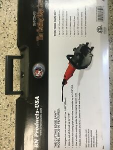 New Benner nawman Bnce 50 Cutting Edge Saw Rebar Cutter