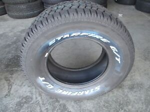 2 New 255 60r15 Starfire Gt Tires 60 15 2556015 R15 60r White Letters