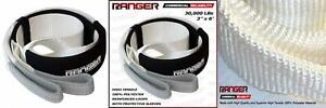Ranger 3 X 6 Tree Saver Strap For Tow Winch Recovery Heavy Duty With