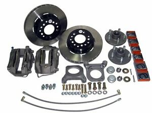 65 73 Mustang 12 Trans am Front Disc Brake Kit