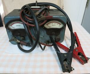 Vintage Battery Starter Tester Sun Electric Company Model Bst 85086