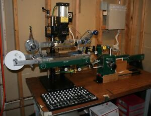 Automated Kwikprint 86a a Hot Stamping Machine And Ribbonmaster Puller cutter