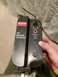 Dayton Dc Speed Control Model 6x165e 115 Volts Input Fwd And Rev Switch