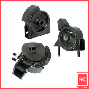 Engine Motor Mount Set 3pcs For 1990 1992 Toyota Corolla 1 6l 2wd For Auto Trans