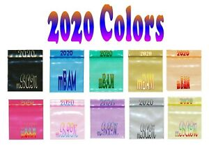 Lots Of 2020 Rainbow Color Apple Zip Baggies 100 200 500 1000 Silver Gold