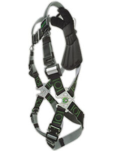 Miller Revolution Dualtech Webbing Full Body Safety Harness Rdtqcsm Each