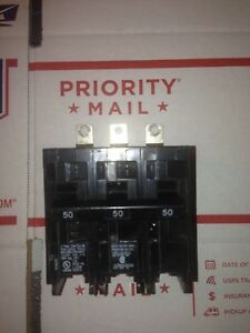Siemens B350 Circuit Breaker 3 pole 50 Amp Type Bl Bolt in Bulk