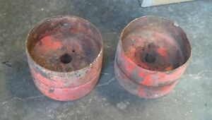Allis Chalmers B Tractor Ac C Good Original Steel Flat Belt Pulley Ca Ib Choice