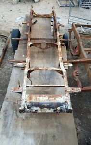 Original 1929 Buick Frame Chassis