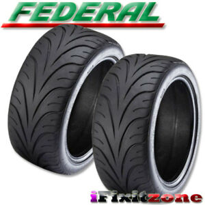 2 Federal 595 Rs R 255 35zr18 90w Ultra High Performance Tires 255 35 18 New
