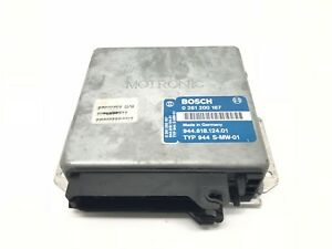 Genuine Porsche 944s 2 5 16v Engine Control Unit Ecu 944 618 124 01