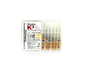 Sybron endo K3 Ni ti Files G pack Assortiment 25mm 6st 930 9925