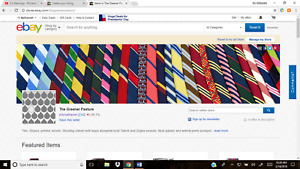 Ebay Necktie Store Inventory Business For Sale Business Opportunity