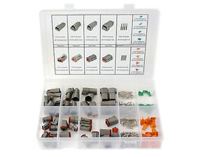 280 Pcs Deutsch Connector Kit 2 3 4 6 Pin Connectors Terminals Made In Usa