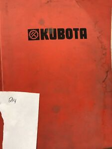 Kubota Parts Book L285wp l285p