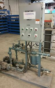Industrial Water Cooling Pumping Recirculating Station 1148cy