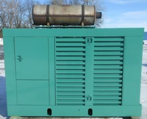 60kw Onan Ford Natural Gas Or Propane Generator Genset Load Bank Tested
