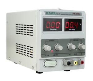 5a 30v Adjustable Dc Power Supply Precision Variable Dual Digital Lab Test 220v