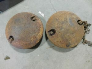 John Deere L M Tractor Front Wheel Weights 00734