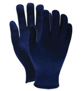 Ansell Thermaknit Insulator Lightweight Blue Gloves 12 Pair