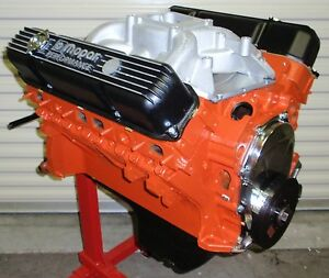 Mopar Dodge 440 475 Horse Complete Crate Engine Pro Built 413 426 528 New Bbm