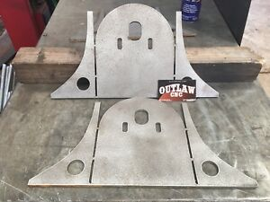 Rear Air Bag Brackets Frame Mount Upper Air Ride Suspension Tombstone