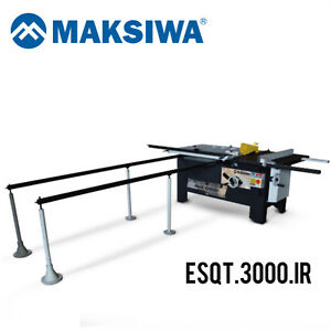 Maksiwa Esqt 3000 ir Black Edition Panel Saw Tornado 3000mm 220v 3hp