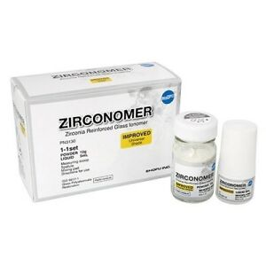 Shofu Zirconomer Zirconia Reinforced Glass Ionomer Permanent Cement ods