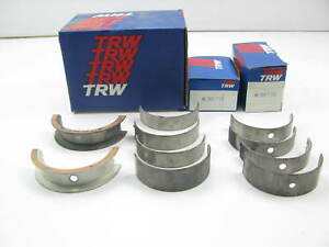 Trw Ms2908p Engine Main Bearings Std 1967 1976 Buick Oldsmobile 400 430 455
