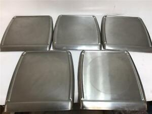 Lot Of 5x Commercial Deli Scale Trays For Hobart Quantum Deli Scales