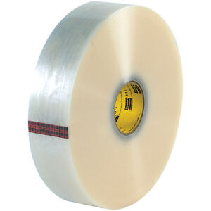Scotch 3m 371 Carton Sealing Tape 1 9 Mil 2 X 1500 Yds Clear 6 case T910371