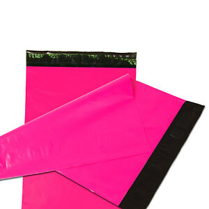 2000 4x6 Poly Mailers Plastic Envelopes Shipping Mailing Bags 2 5 Mil Hot Pink