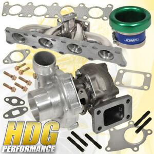Audi Vw Vag 1 8t Manifold Turbo Charger Oil Cooled Velocity Stack Green
