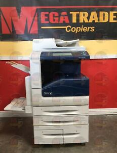 Xerox Workcentre 7855 Color Copier Machine Printer Scanner Fax Finisher 55 Ppm