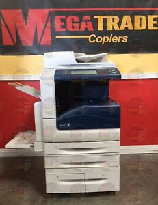 Xerox Workcentre 7855i Color A3 Laser Mfp Printer Copier Scanner Fax 55 Ppm