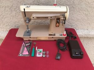 Heavy Duty Industrial Strength Singer 404 Sewing Machine Fully Restored W Extras
