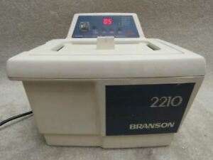 Branson 2210 2210r dth Ultrasonic Cleaner W Heat Digital Controls