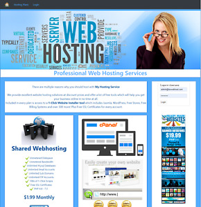 Sell Hosting Home Business Reseller Hosting Automated Website Tht07