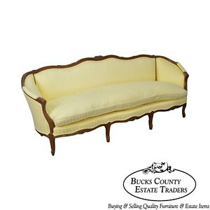 Century French Louis Xv Style Long Sofa A