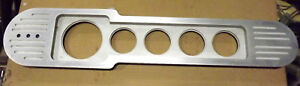 Hot Rod Billet Aluminum Universal Instrument Panel