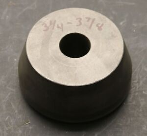 3 1 4 To 3 7 8 Centering Cone For Brake Lathe W 1 Arbor Shaft Ammco Fmc Jbc