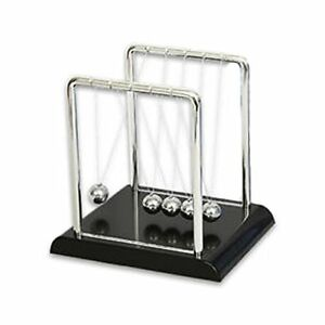 Large Newtons Cradle Balance Balls Office Desk Toy Educational Gravity Kinetic
