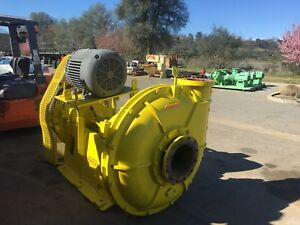 125 Hp Rubber Lined Slurry Pump 10