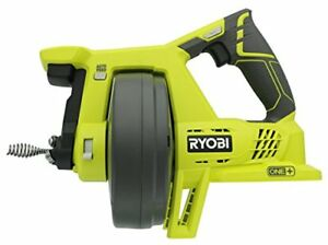 Ryobi Drain Auger Plumbing Snake Sink Clog Pipe Cleaner Cordless 18v Electric